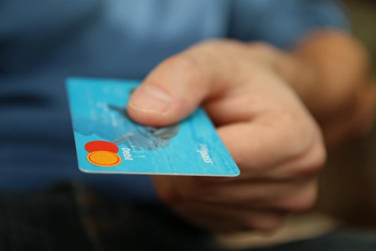 Blue Debit Mastercard Card