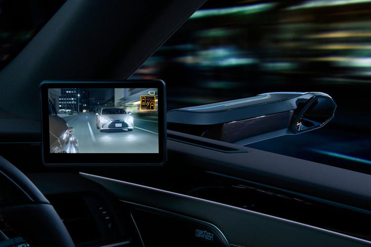 2019 Lexus ES Digital Side Mirror