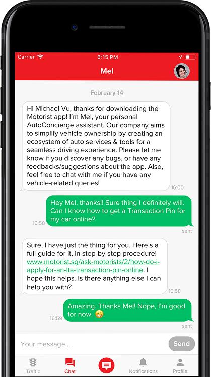 Motorist App Mel Autoconcierge