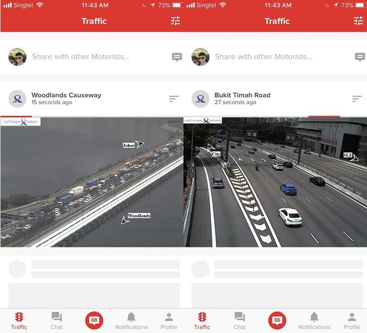 Motorist App Live Traffic Camera
