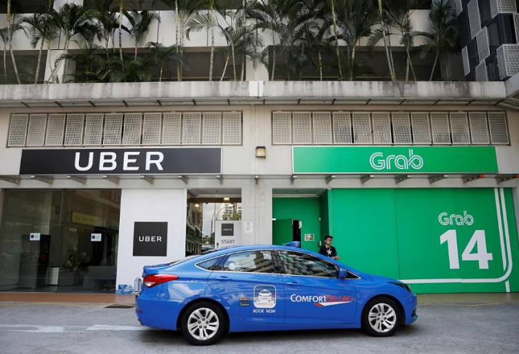 Uber and Grab Office