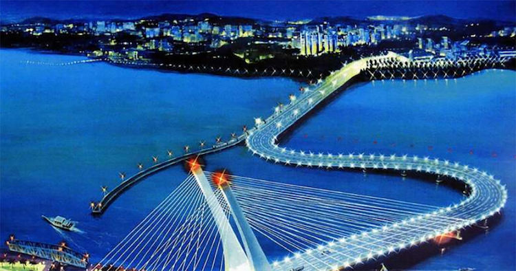 Image result for crooked bridge singapore, -straits times