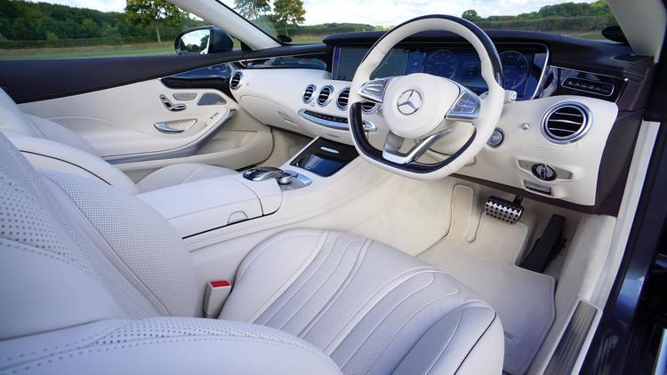 Mercedes Car Interior