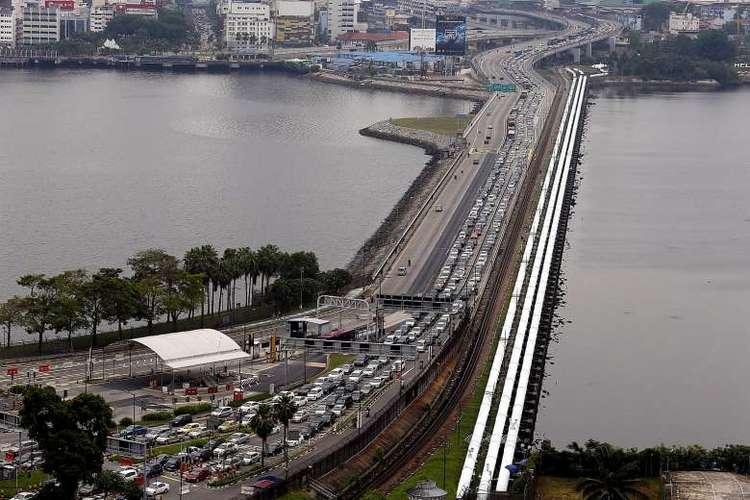Singapore Woodlands Malaysia Johor Causeway