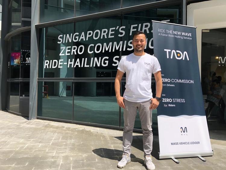 TADA MVL ride hailing blockchain Kay Woo