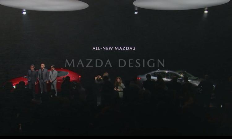 Mazda3 2019 Unveiling event