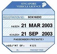 Motorist Ethoz Vehicle License