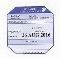 Motorist Ethoz Vehicle License 2