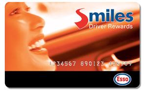 Esso Smiles Card