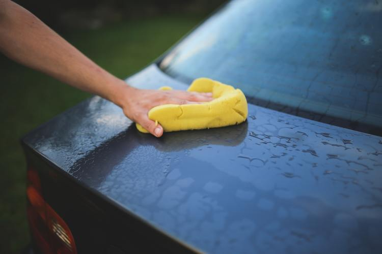 car carwash clean wipe