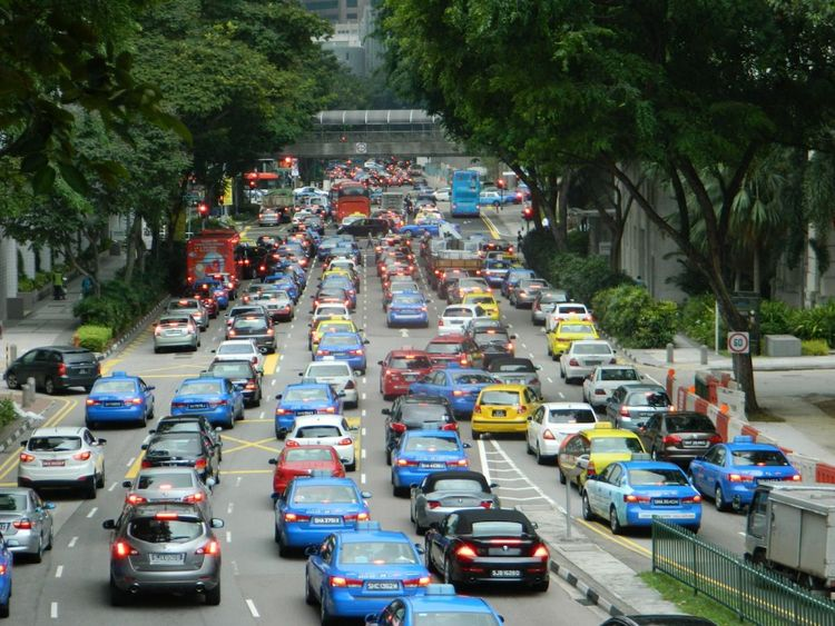 Car Jam Singapore