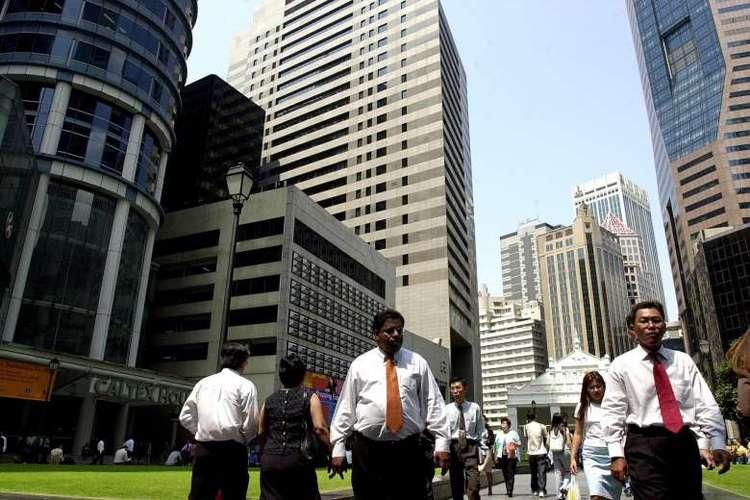 CBD workers singapore