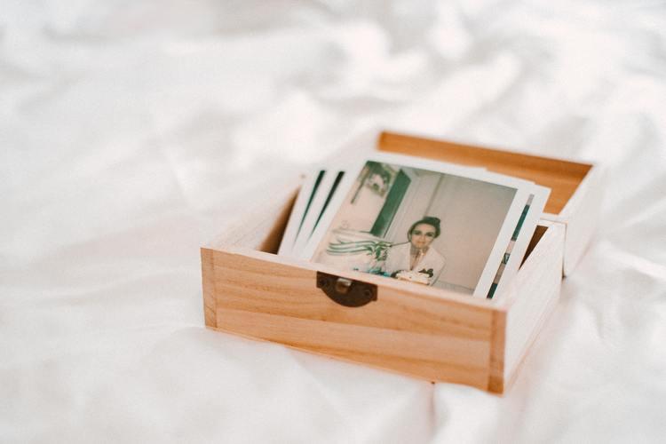 photos in small box