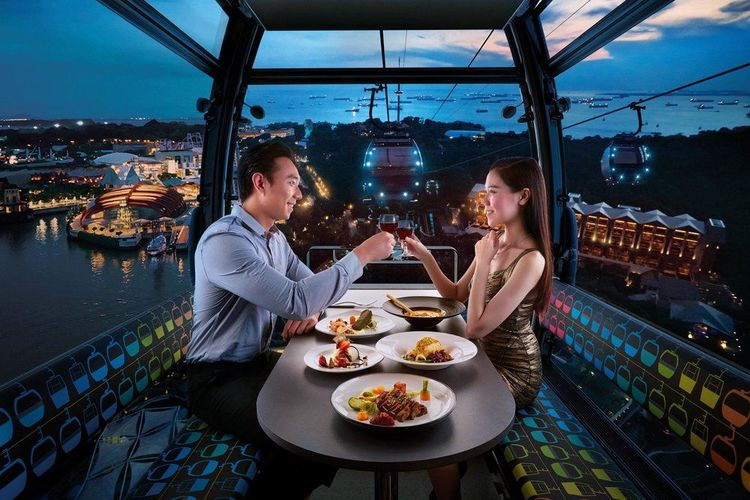 faber peak cable car dining