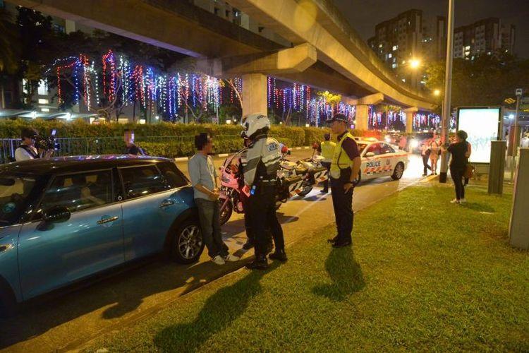 traffic police singapore