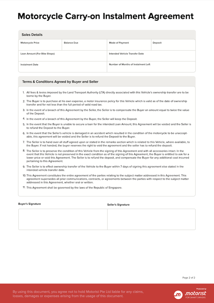 Letter Template for Carry On Instalment COI Subletting of ...