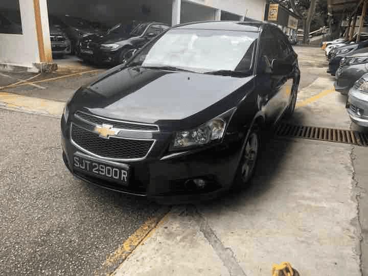 CHEVROLET CRUZE 1.6L AUTO ABS D/AB 2WD 4DR