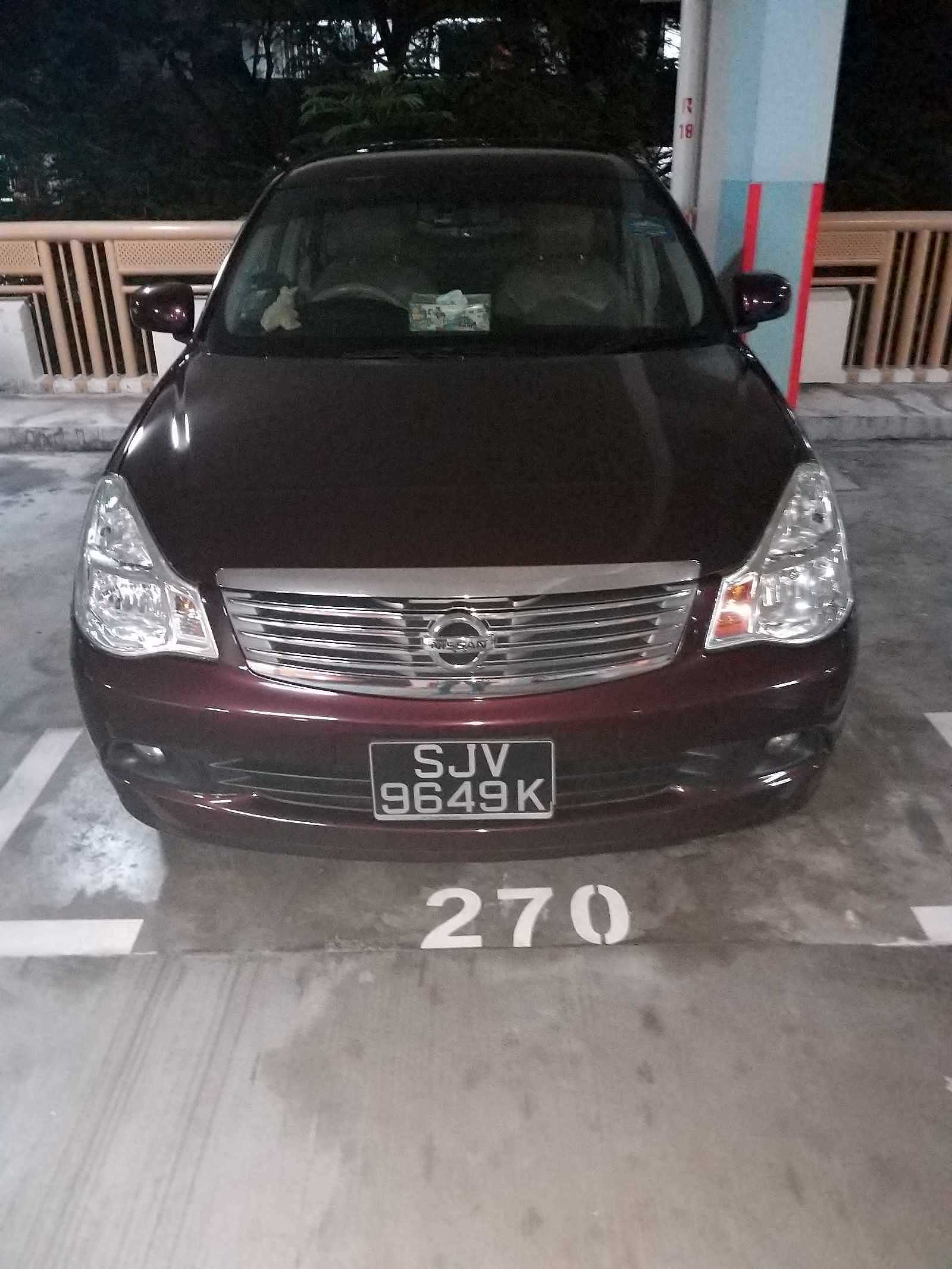 NISSAN SYLPHY 1.5L 4AT ABS D/AB 2WD 4DR